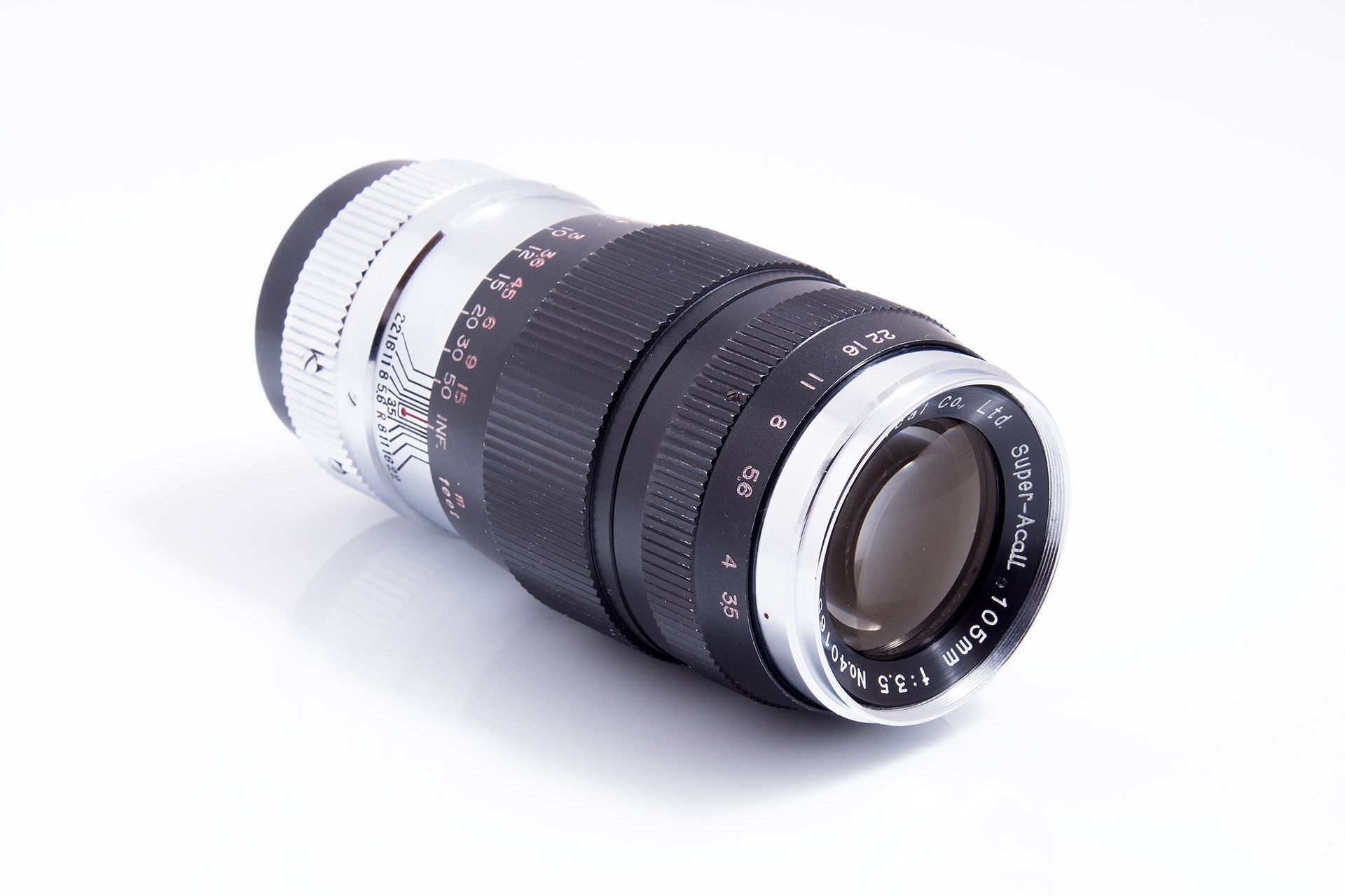 Kyoei Optical Co. LTD. Super-Acall 105mm f/3.5